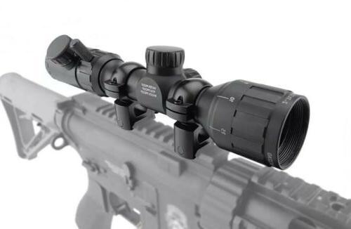 Monstrum Tactical 2-7x32 AO Rifle Range