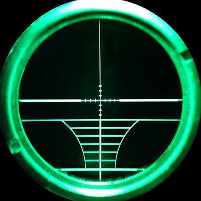 3-9x40 AOEG Hunting Scope illuminated PEPR Sunshade