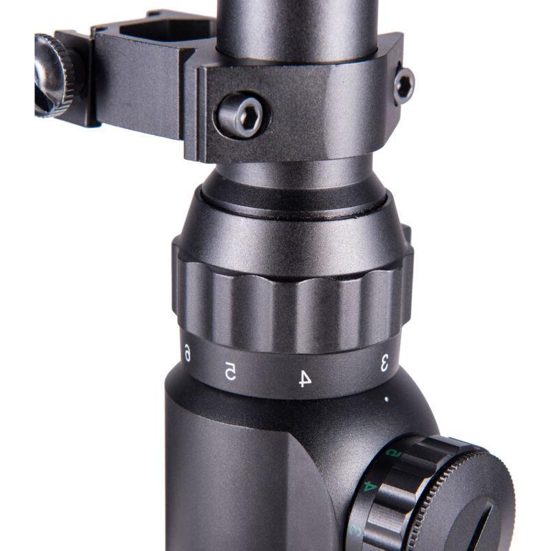 Pinty 3-9X40mm Reticle Illuminated Rifle W/