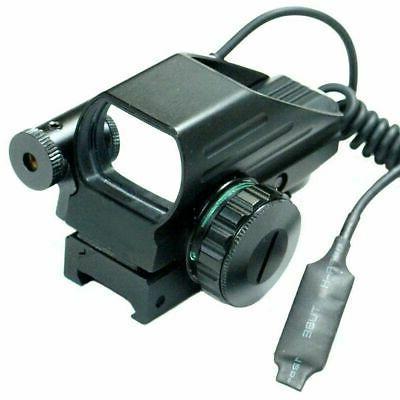 4-12X50 EG Scope Reticle & Red Laser