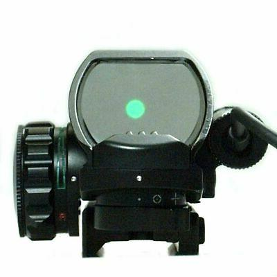 4-12X50 Tactical Scope Holographic 4 Reticle & Red Laser