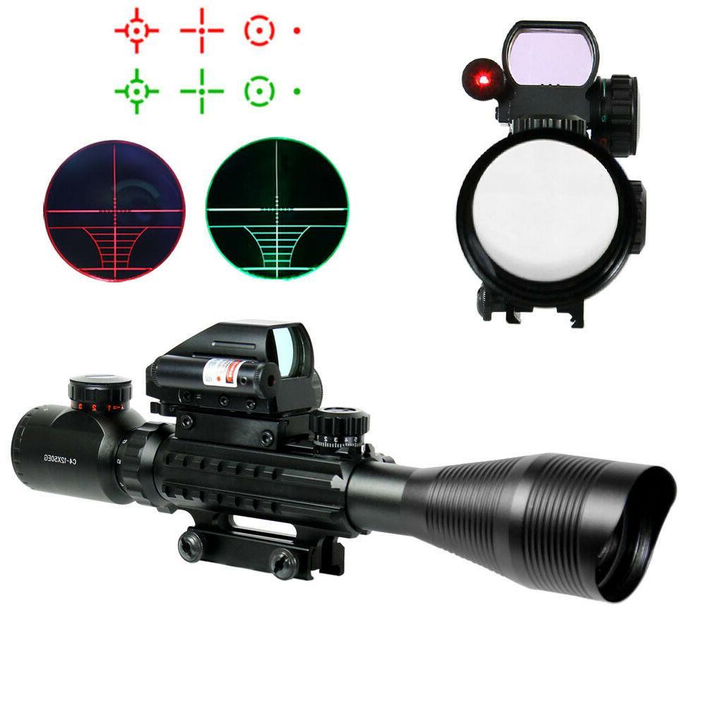 4 12x50 eg tactical rifle scope