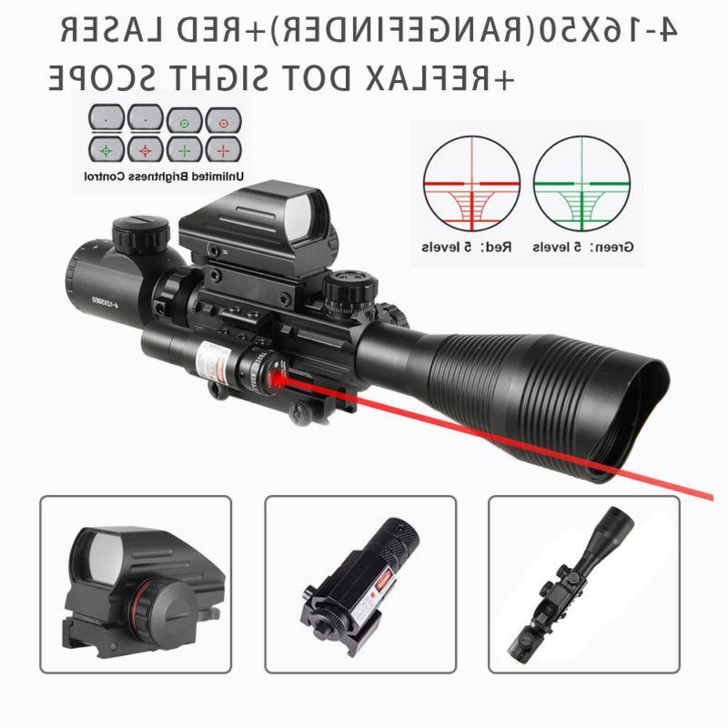 Pinty Rangefinder Reticle Rifle Laser & Sight