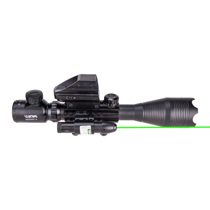 Rangefinder Rifle 4-16x50 Holographic Dot Sight Laser