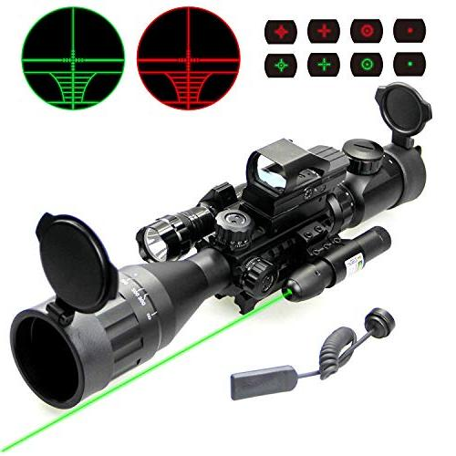 4 laser flash light
