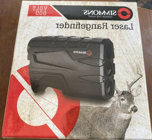 SIMMONS 4x20 Volt 600 BLK Vertical Single Button /801600