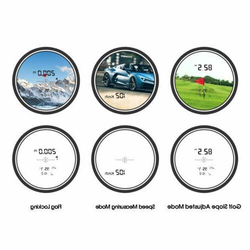 MiLESEEY Golf Rangefinder Flag Locking