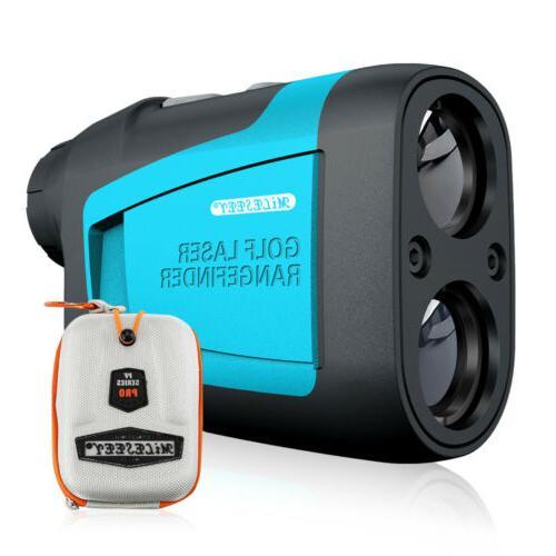 650 yards golf laser rangefinder with slope
