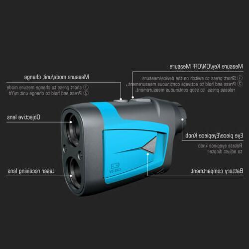 650 Laser Finder Hunt Golf Laser Rangefinder