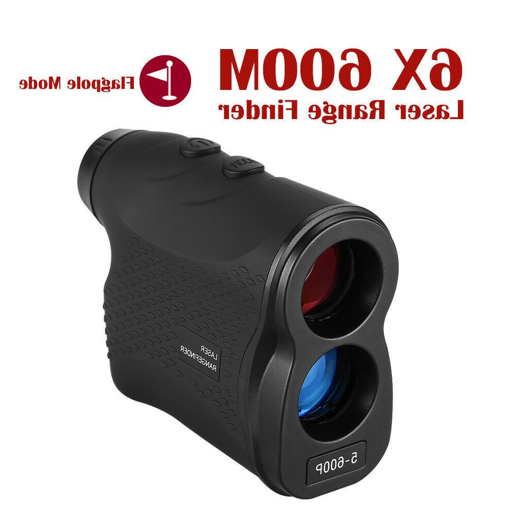 6x magnification laser range finder 600m distance