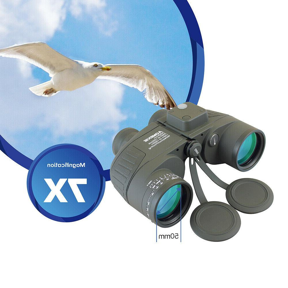 7X50 Military with Rangefinder for Hunting Camping
