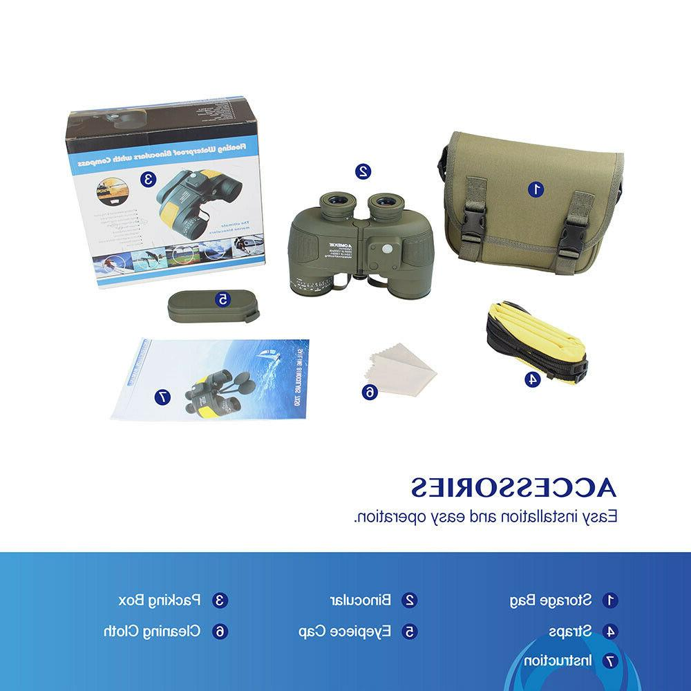 7X50 Military Rangefinder Hunting Camping