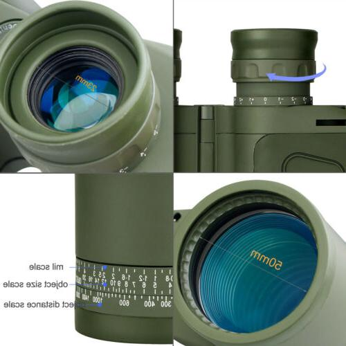 Super Floating Binocular+Rangefinder &Compass US