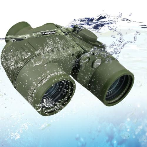 7x50 Military Waterproof Floating Marine Binocular with Rang