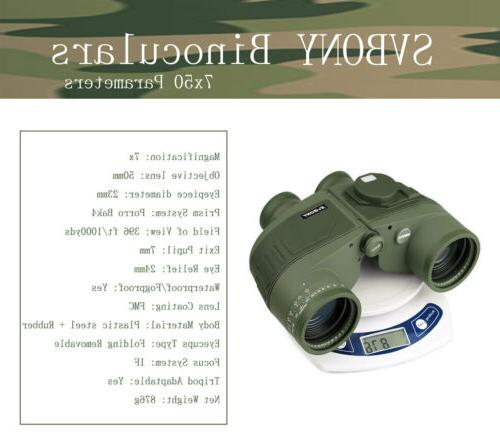 Floating Binocular+Rangefinder &Compass US