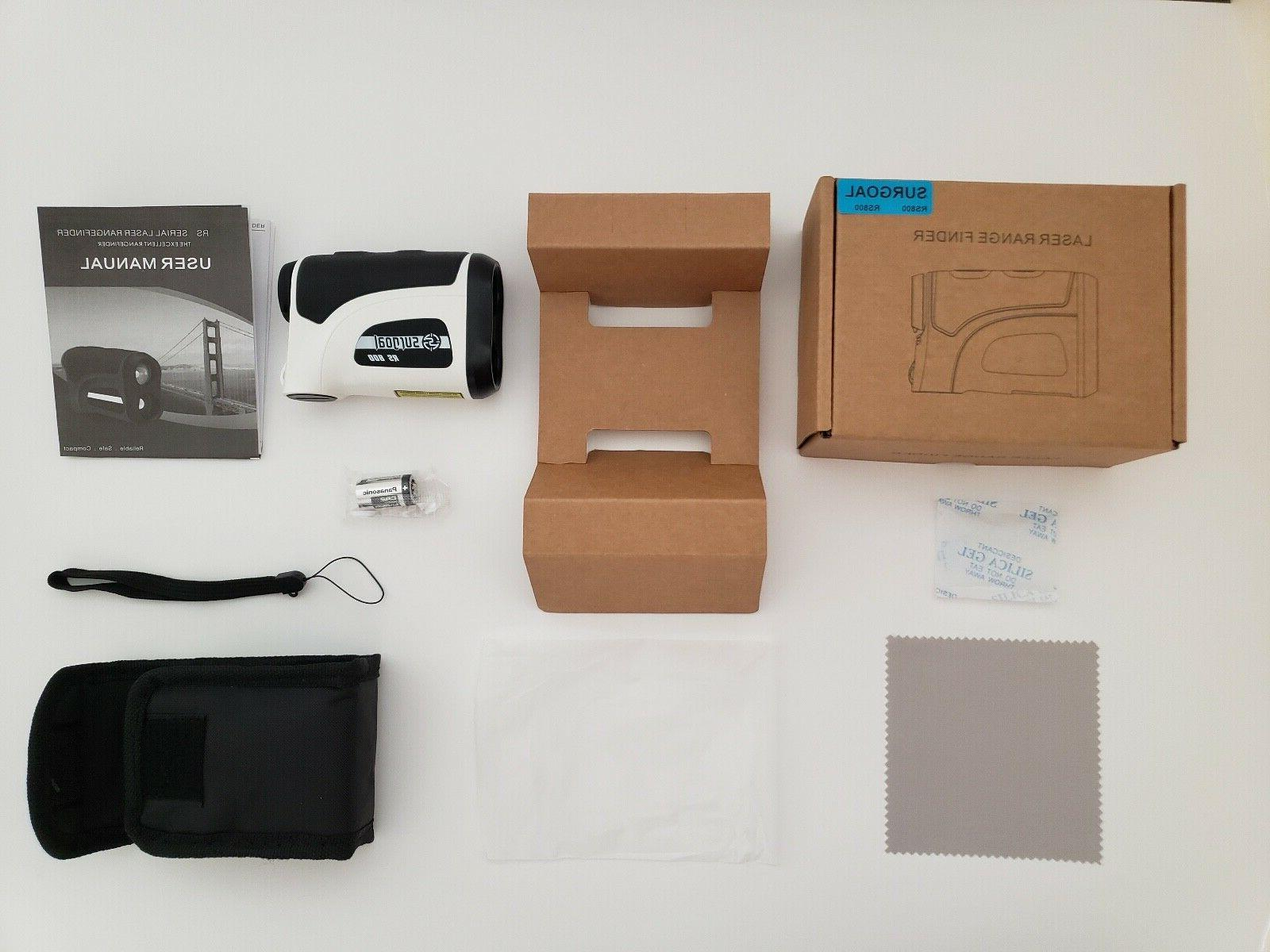 Surgoal HD 6X-Mag Golf Laser Rangefinder Waterproof_All
