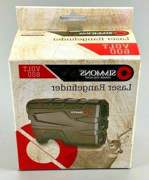 801600 volt 600 laser rangefinder black