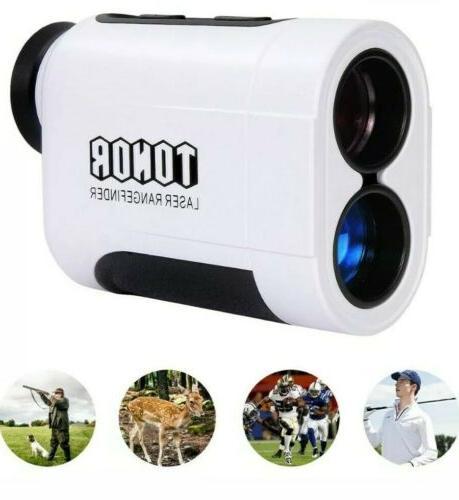 TONOR Meters Golf Rangefinder Color : White