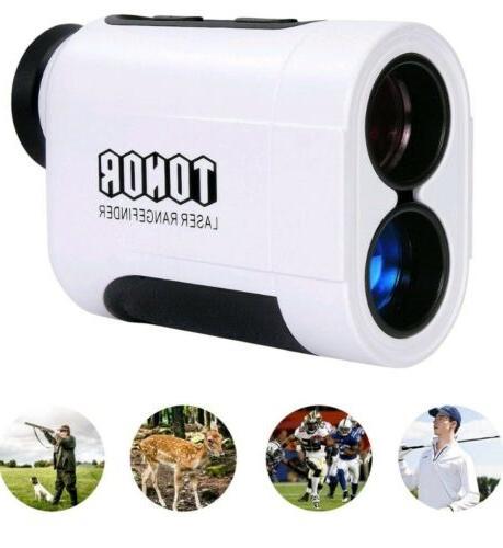 900 meters laser golf rangefinder color white
