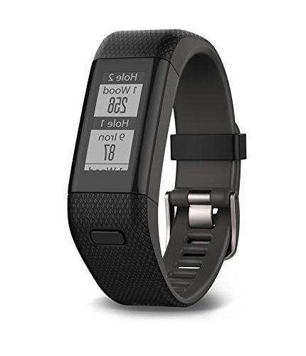 Garmin - Approach X40 Gps Watch - Gray, Black