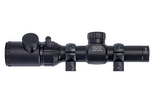 Monstrum 1-4x20 Scope Rangefinder