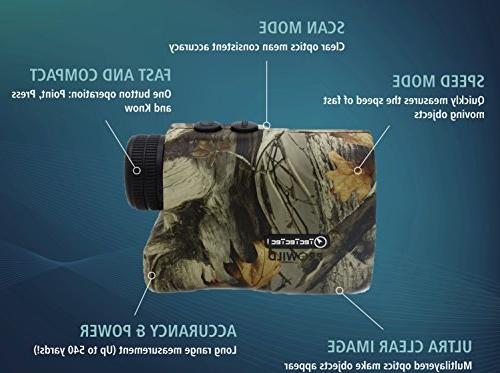 TecTecTec - Finder for Hunting Speed, Measurements