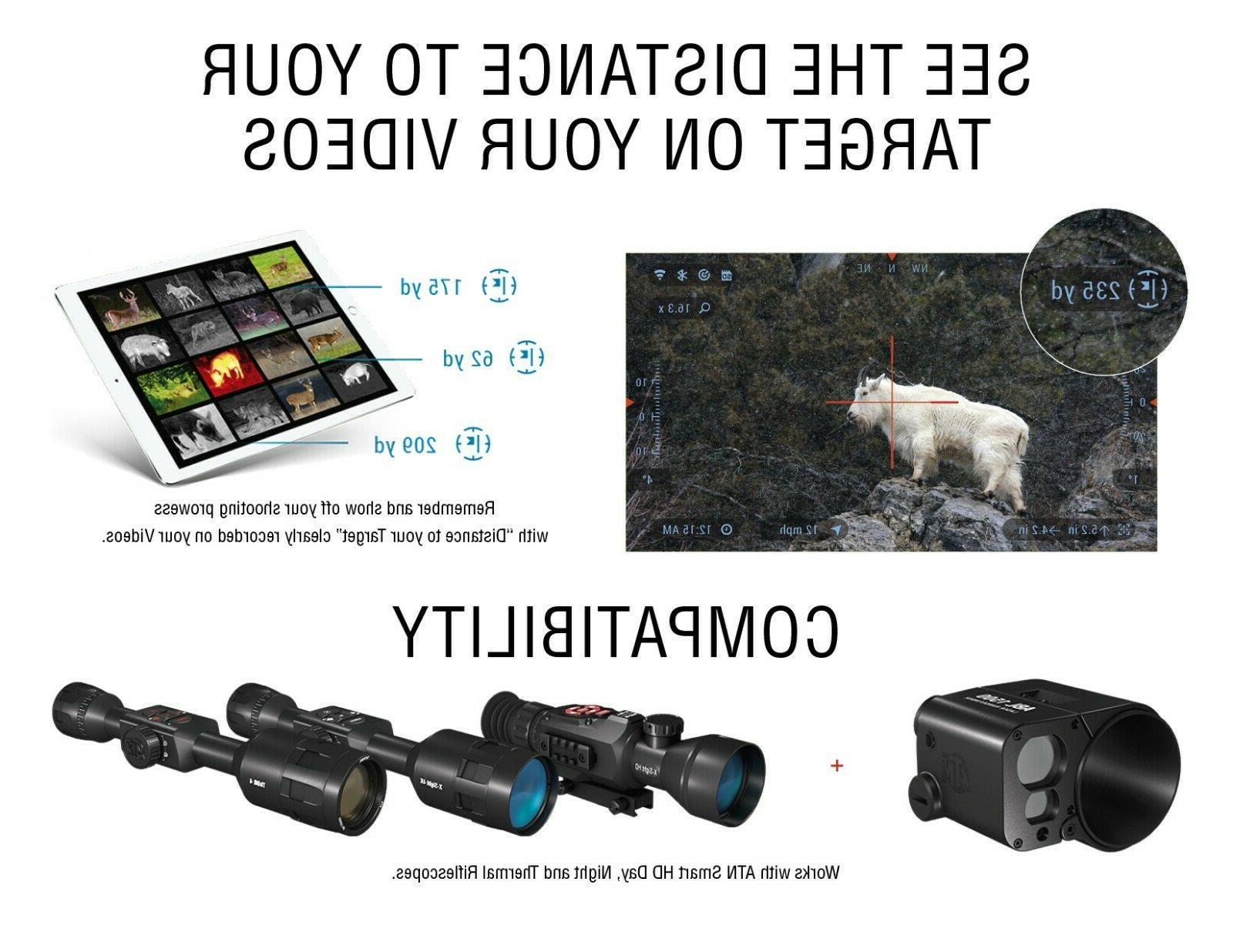 ATN ABL Ballistic Smart Rangefinder w/Bluetooth