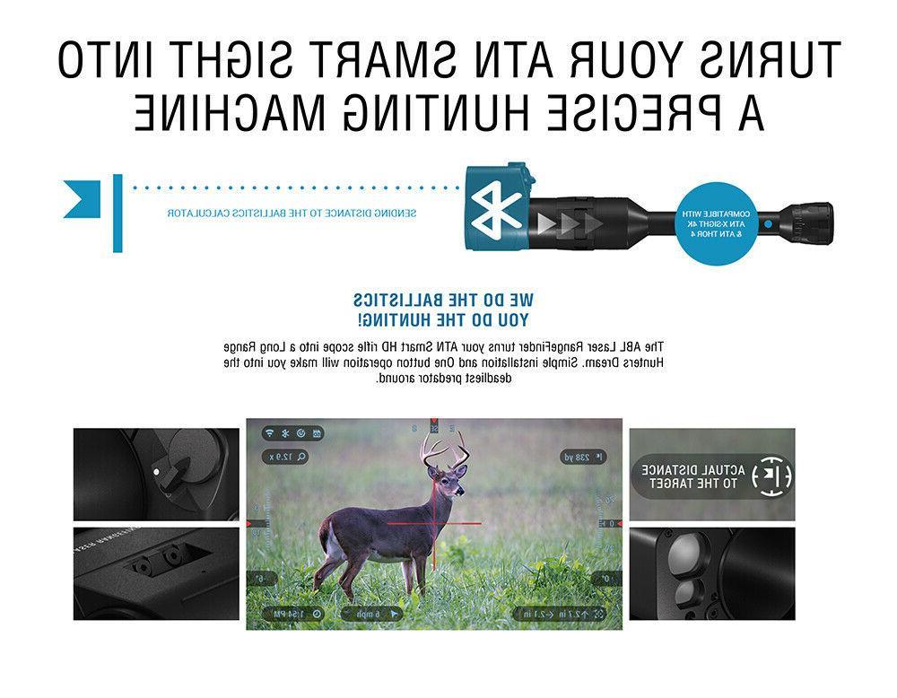 ATN Ballistic Laser w/Bluetooth