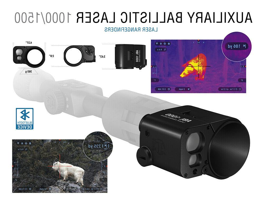 ATN 1000 Ballistic Smart Rangefinder w/Bluetooth