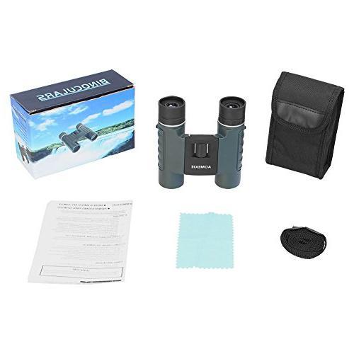 Aomekie Binoculars for Kids Adults Mini Pocket Telescopes and Concerts Birdwatching