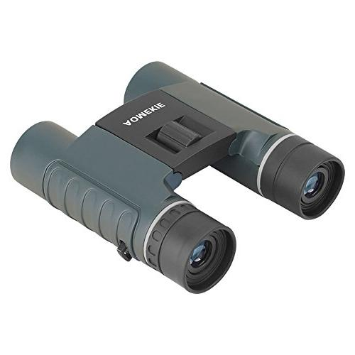 Aomekie Binoculars for Kids 10X25 Mini Telescopes Carrying and Concerts Theater Birdwatching