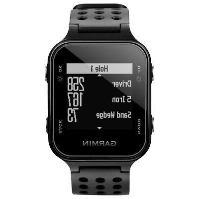 Garmin Approach S20 - GPS Golf Watch - Black-