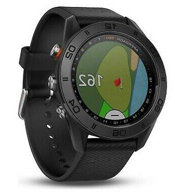 approach s60 gps rangefinder golf watch black