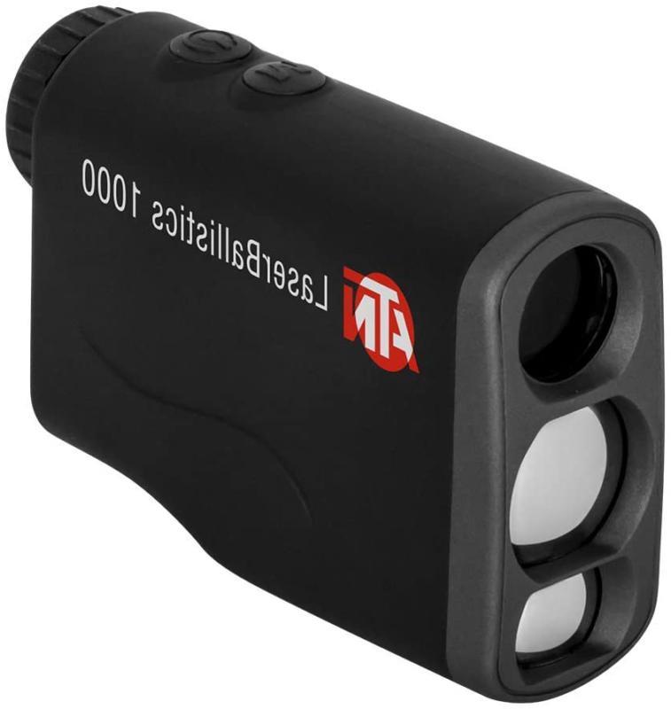 Theopticguru ATN Laser Ballistics Range Finder W/Bluetooth,