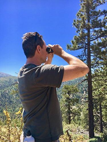 Roxant Authentic High Range Binoculars 10x42 Shockproof, Dust Weatherproof Metal Alloy Case &