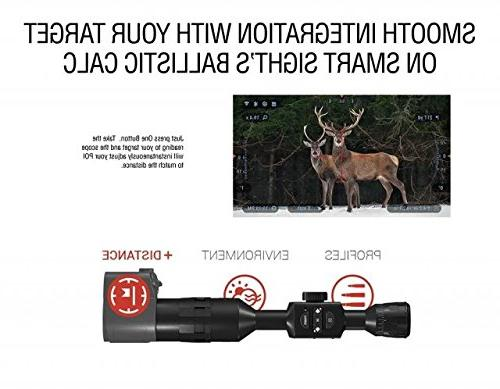 ATN Auxiliary Ballistic Rangefinder 1000 Works with MOA Using Calculator