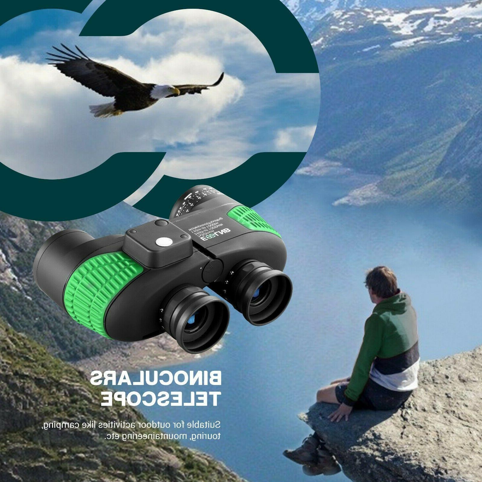 Binoculars 7X50 for Boating Rangefinder Compass