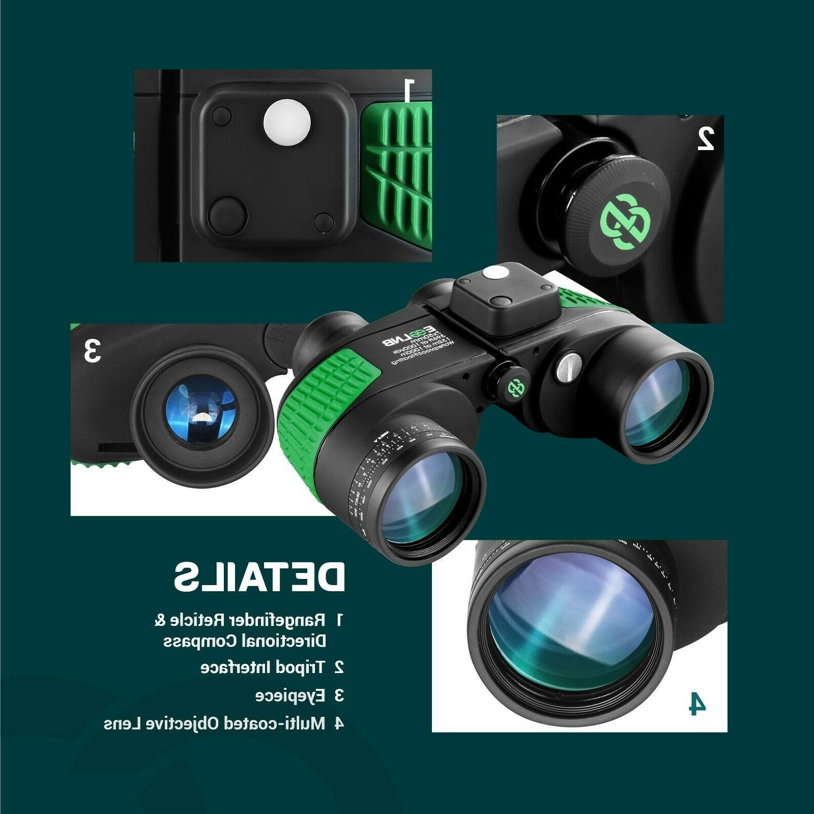 Binoculars for Boating Rangefinder HD Vision