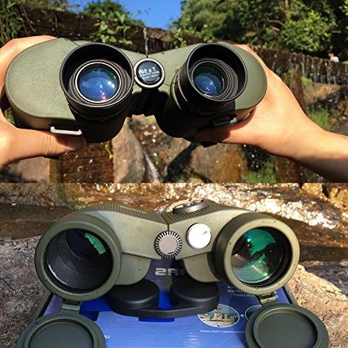 ReHaffe Military Marine Binoculars 7x50 and Build Adults Marine Sports Boating Sailing