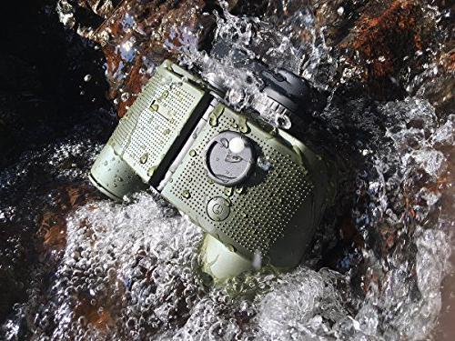 ReHaffe Military Marine Binoculars 7x50 and Compass Adults Marine Sports Boating and Adventure