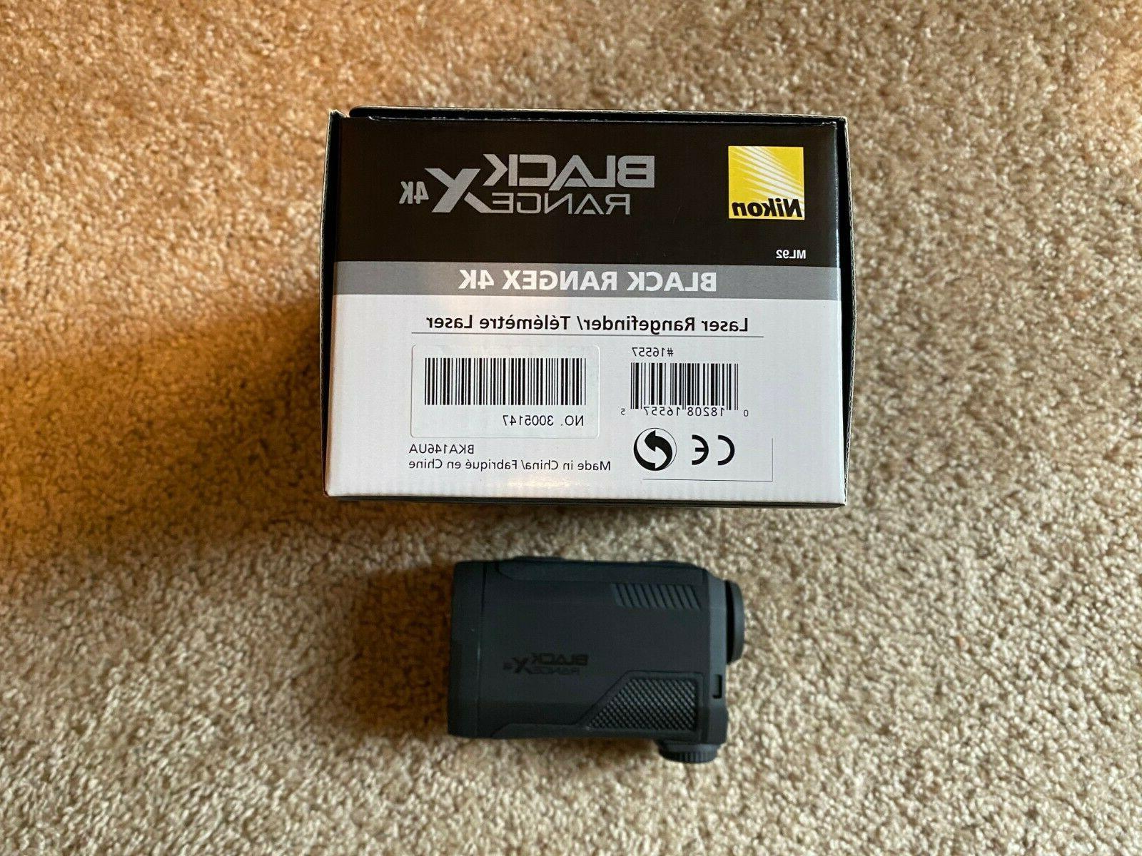 black rangex 4k laser rangefinder 16557