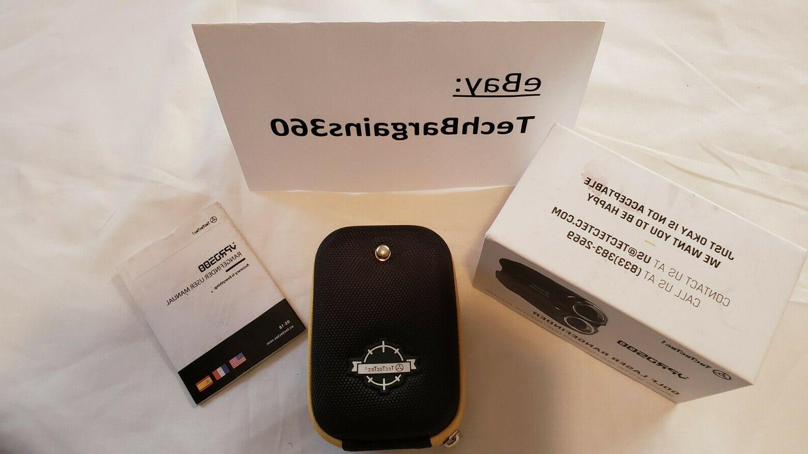 Brand-New VPRO500 Golf Laser Rangefinder Range with Case