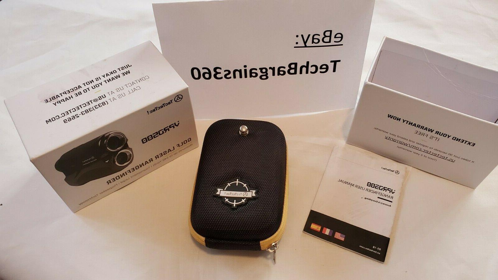 Brand-New Box TecTecTec VPRO500 Golf Laser Range