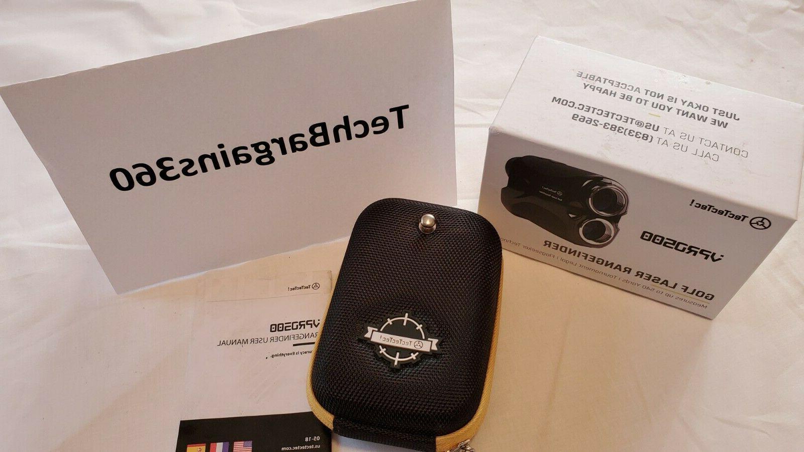 Brand-New TecTecTec VPRO500 Laser Range