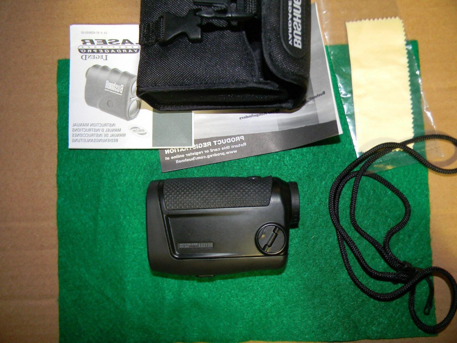 Bushnell Yardage Pro Laser Rangefinder #20-0003W