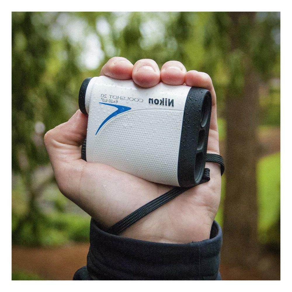 Nikon Coolshot Rangefinder 16200 Batteries + Keychain Light