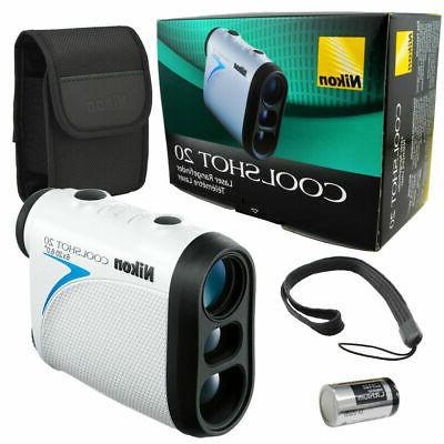 coolshot 20 golf laser rangefinder rainproof lightweight