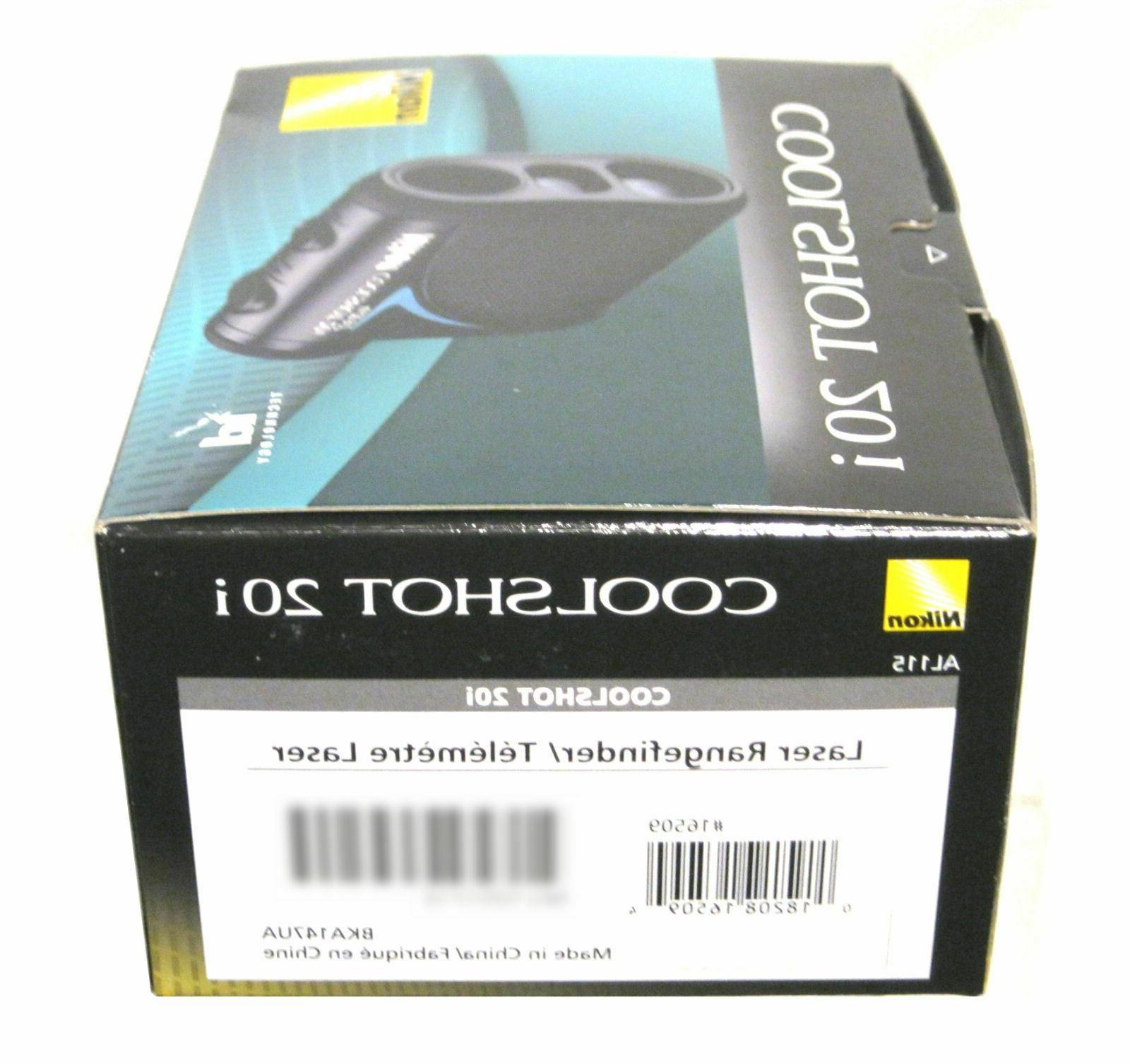 Nikon COOLSHOT 20i Golf Laser Rangefinder Technology