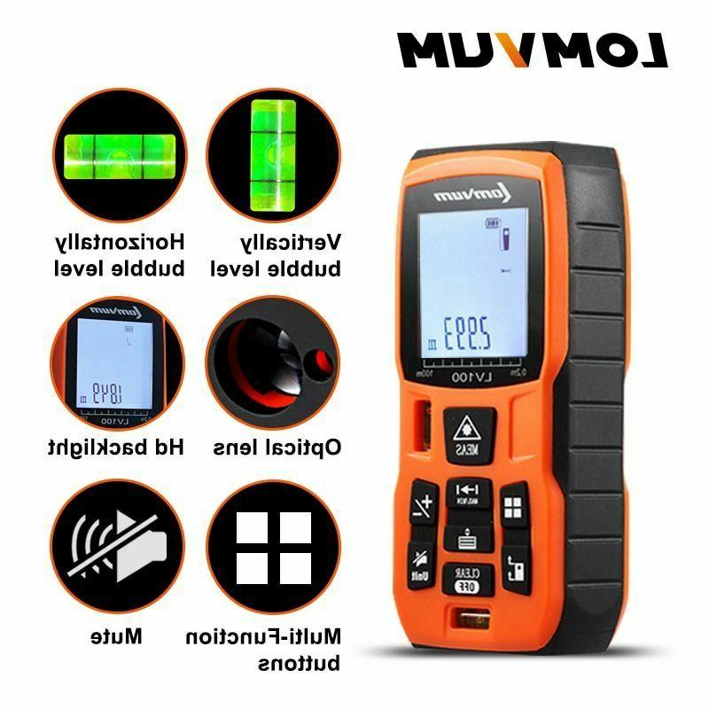 Digital Lazer 40M 80m Rangefinder Distance Measure Metter