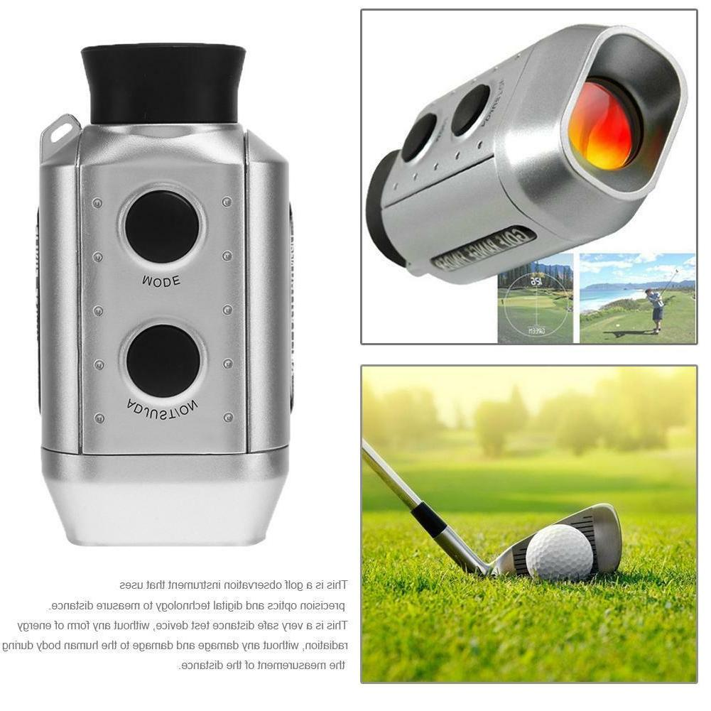 digital 7x range finder golf hunting laser